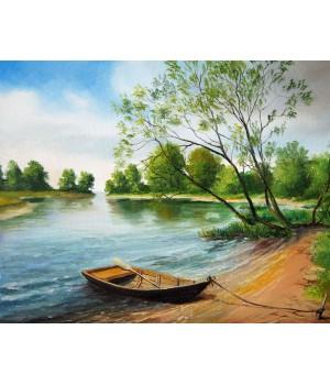 Човен біля берега